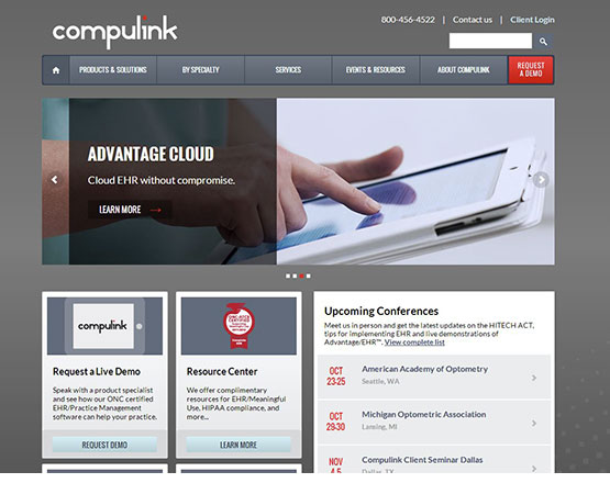 Compulink website, Compulink, website development, website development group, Wordpress development, Compulink client site, wordpress development group